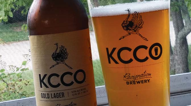 KCCO Gold Lager - A BeerAwareness Review