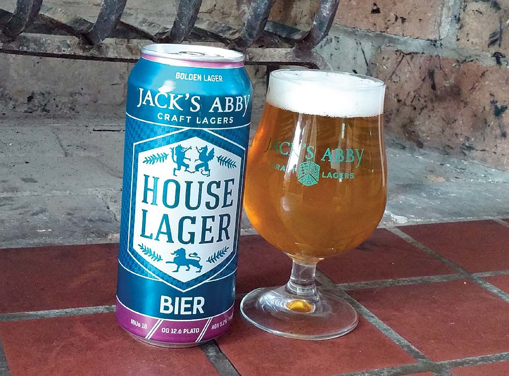 House lager jack 39 s abby brewing a beerawareness review for Jack s fish house