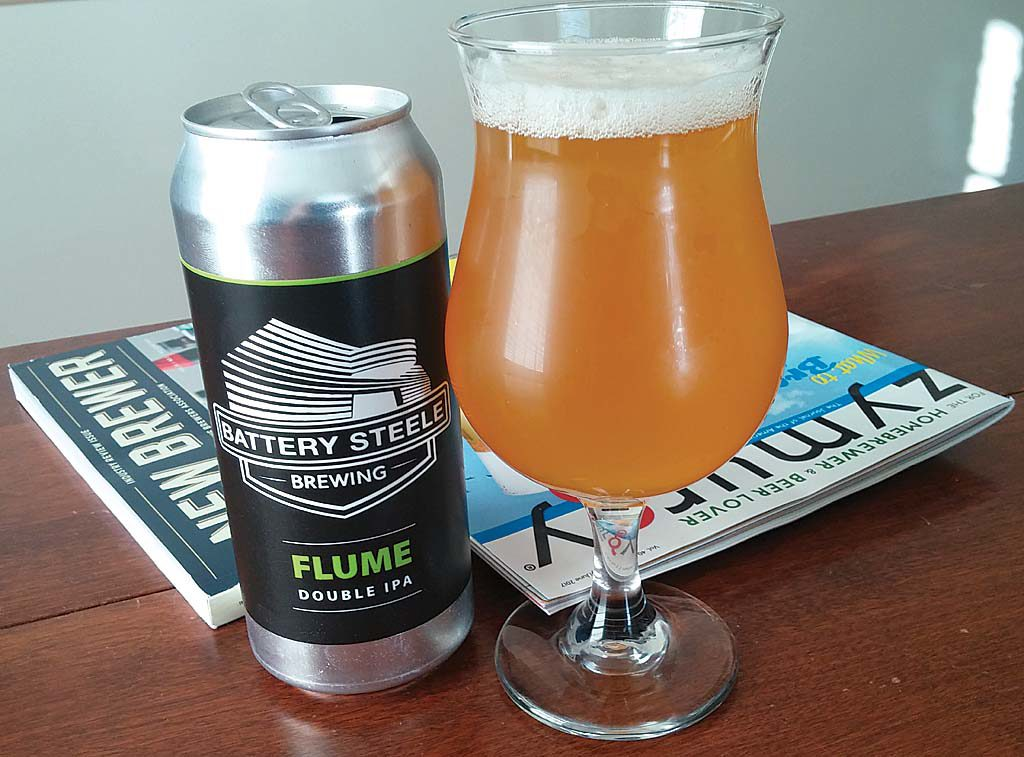 Flume - Battery Steele Brewing | A BeerAwareness Review